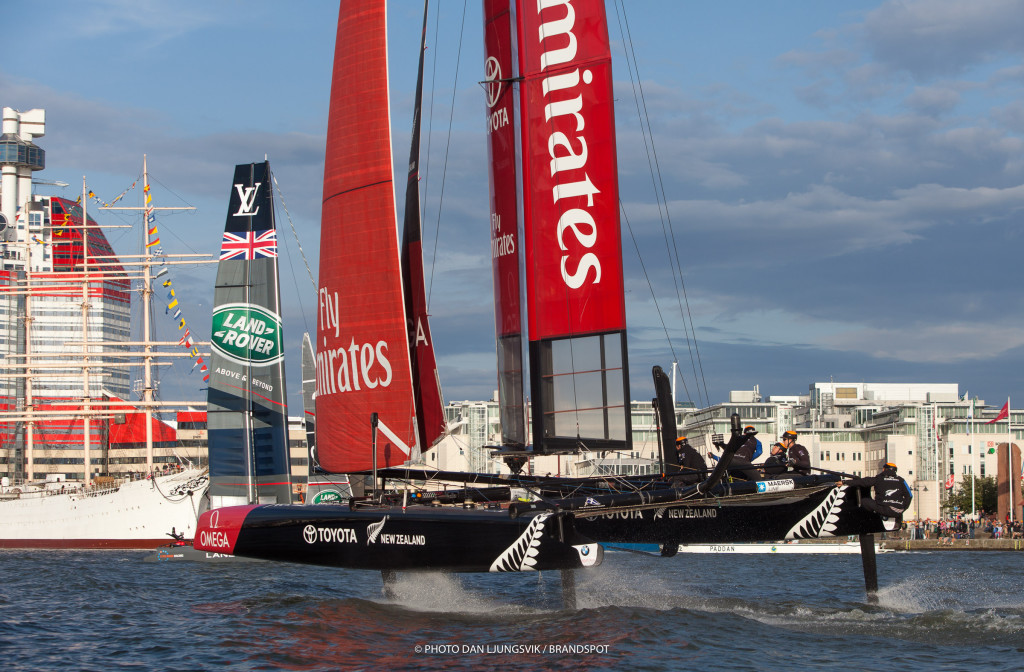 2015, Gothenburg (SWE), 35th America's Cup, Louis Vuitton America's Cup World Series Gothenburg 2015