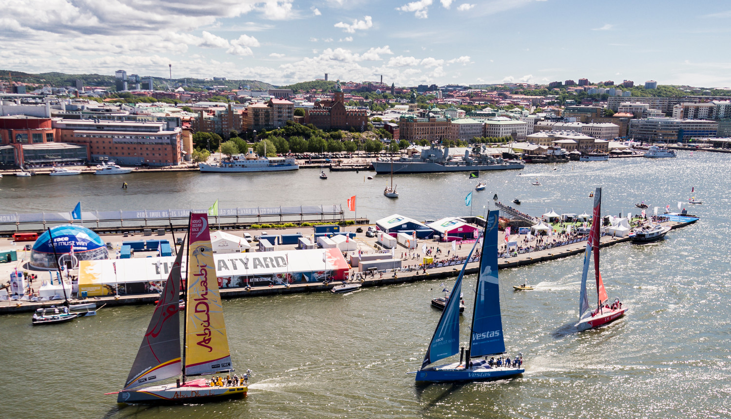 June 26, 2015. The Gothenburg Race Village